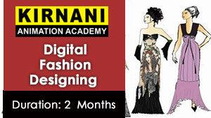 Digital Fashion Designing Kirnani Animation Academy